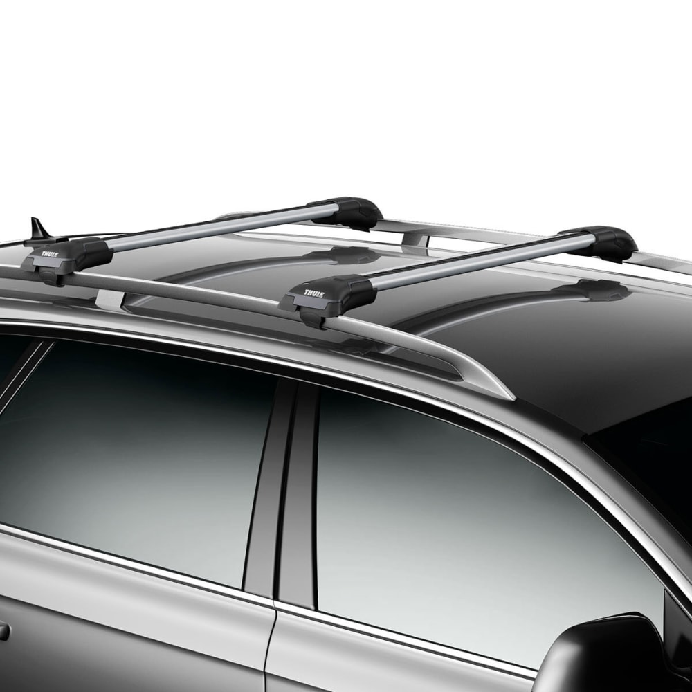 THULE Aeroblade Edge 7502, Raised Rail, Medium Silver (1 Bar) - SILVER