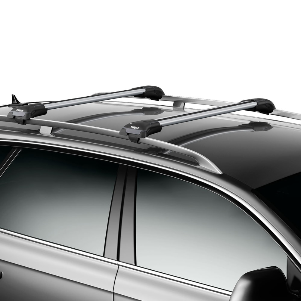 THULE Aeroblade Edge 7503, Raised Rail, Large Silver (1 Bar) - SILVER