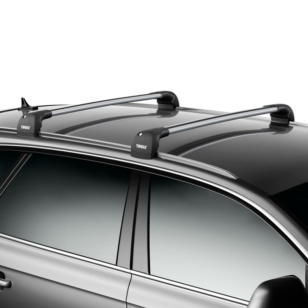 THULE Aeroblade Edge 7602, Flush Mount, Medium Silver (1 Bar) - SILVER