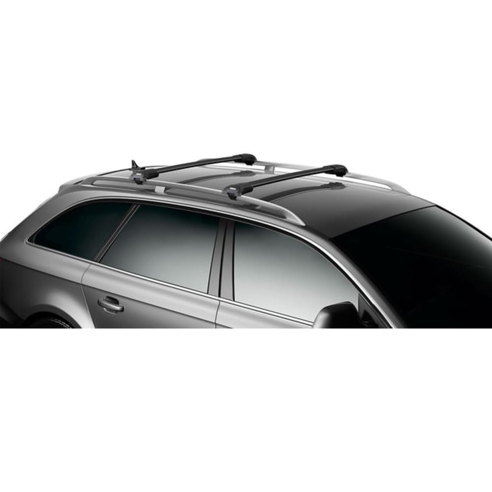 THULE Aeroblade Edge 7502B Raised Rail, Medium Black (1 Bar) - BLACK