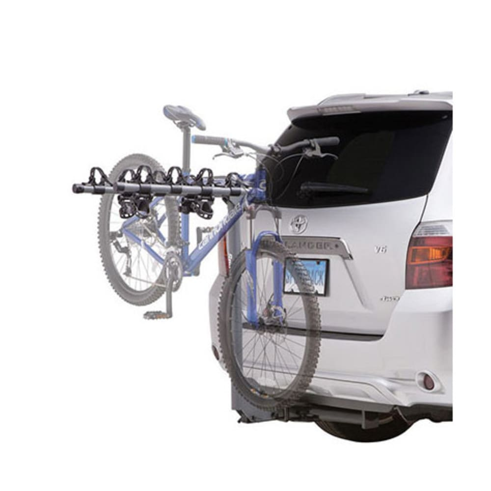 SPORTRACK SR2404 4 Bike Anti-Sway Hitch Rack - GREY/BLACK