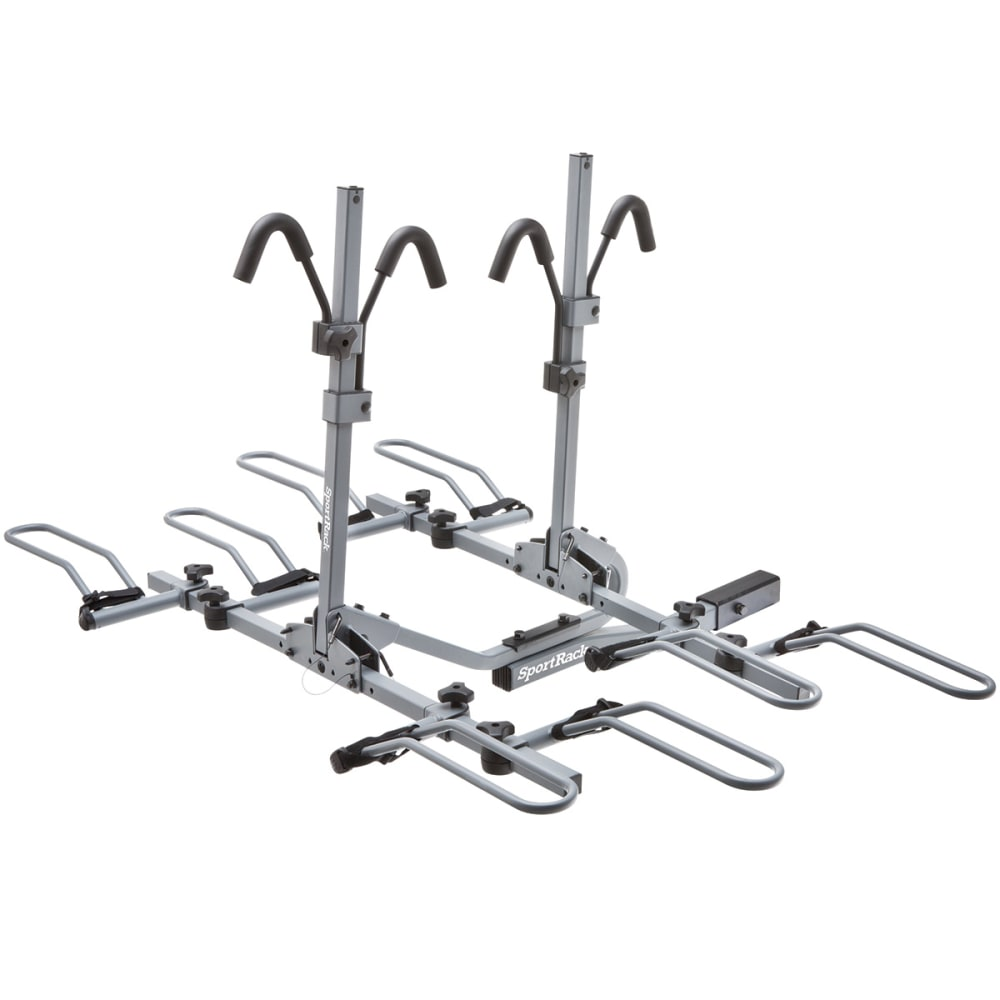 SPORTRACK SR2902 4 Bike Platform Hitch Rack - NONE
