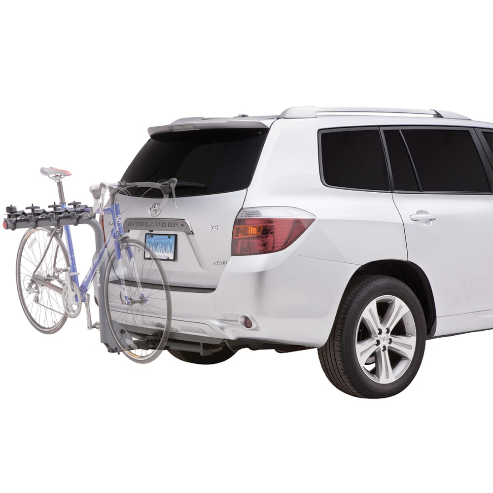 SPORTRACK SR2704 4 Bike Lock and Tilt Hitch Rack - NONE