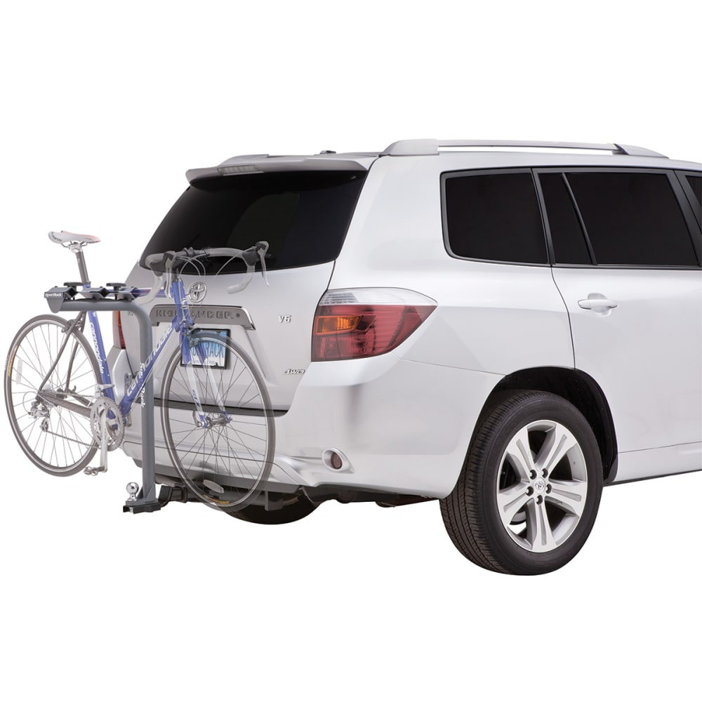 SPORTRACK SR2513 3 Bike Multi-Ball Mount Towable Hitch Rack - NONE