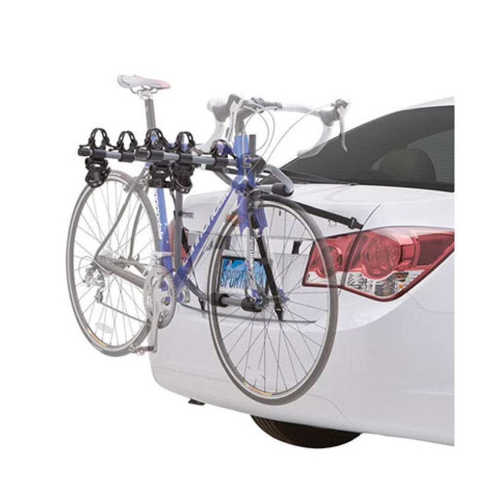 SPORTRACK SR3152 3 Bike Anti-Sway Trunk Mount Rack - GREY/BLACK