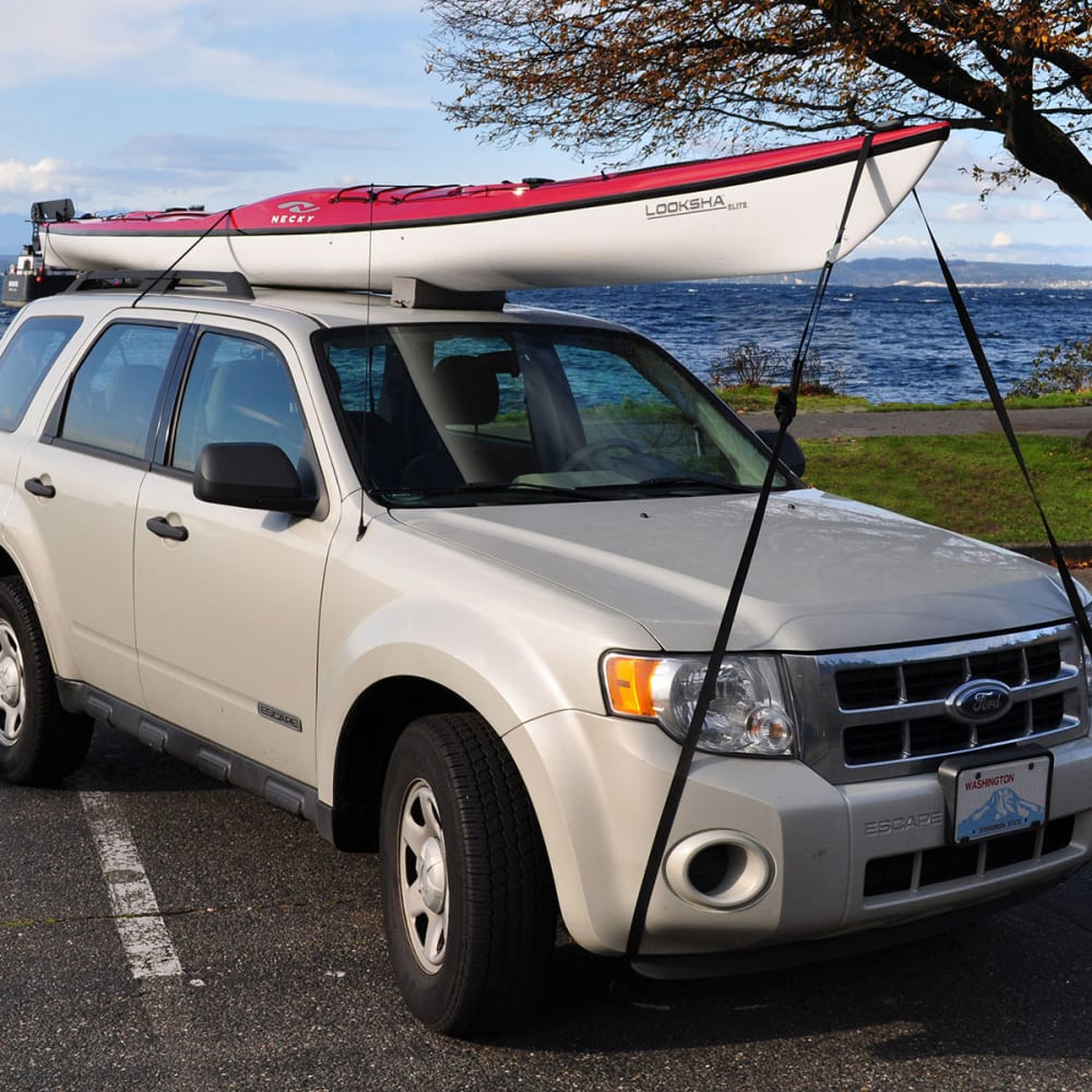 SEATTLE SPORTS V-Style Bow/Stern Straps, 18 ft. - NONE