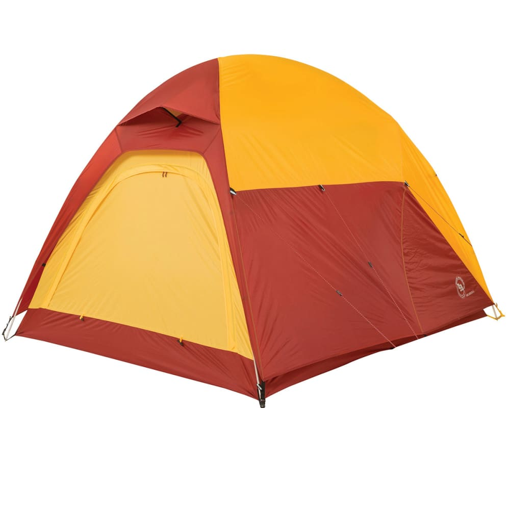 BIG AGNES Big House 4 Tent, 2014 - YELLOW/RED