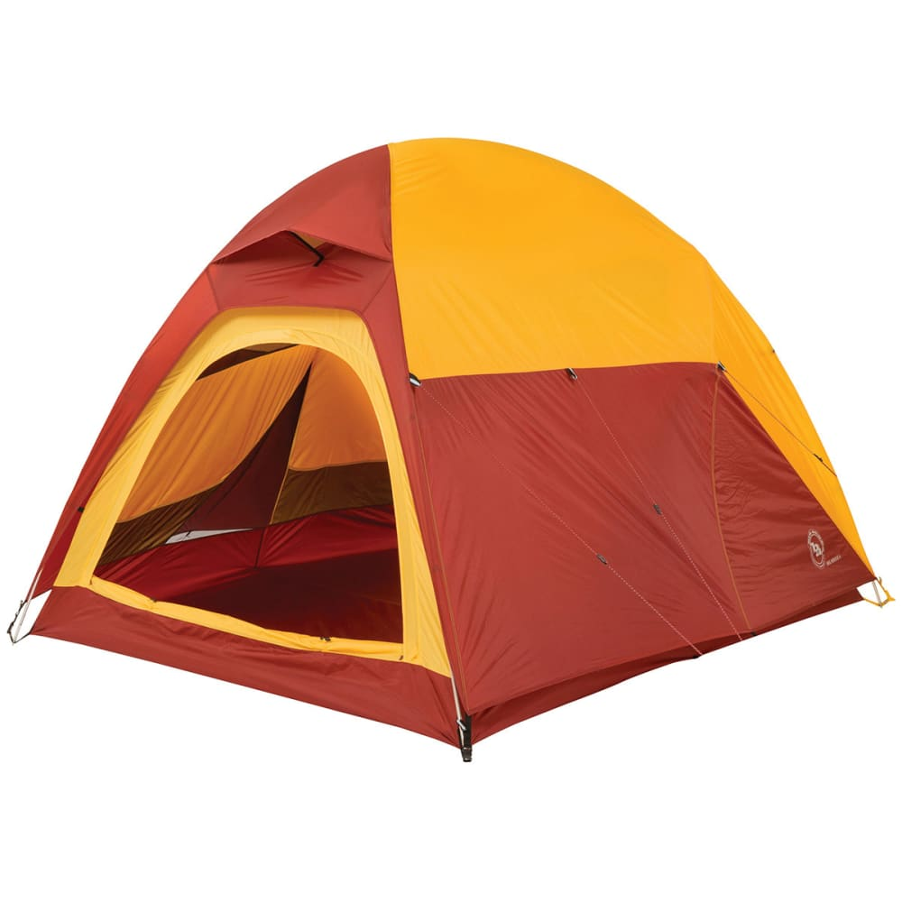 BIG AGNES Big House 4 Tent - YELLOW/RED