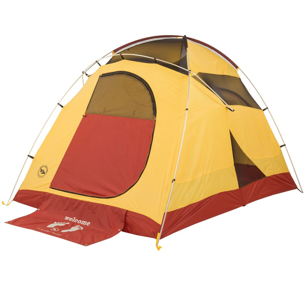 BIG AGNES Big House 4 Tent 2014 - YELLOW/RED  sc 1 st  Eastern Mountain Sports & BIG AGNES Big House 4 Tent