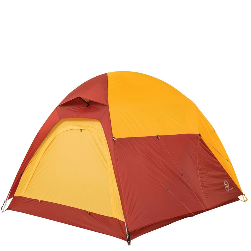 BIG AGNES Big House 6 Tent - YELLOW/RED