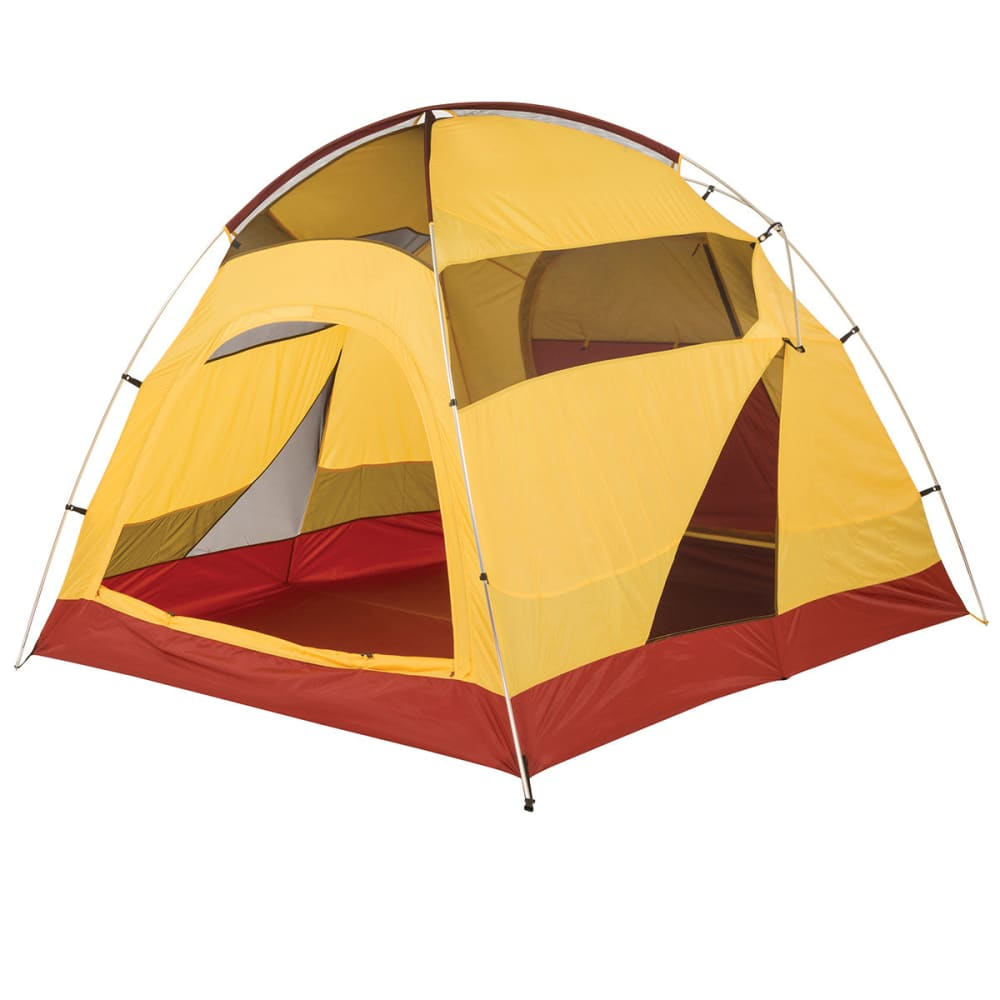... BIG AGNES Big House 6 Tent 2014 - YELLOW/RED ...  sc 1 st  Eastern Mountain Sports & BIG AGNES Big House 6 Tent