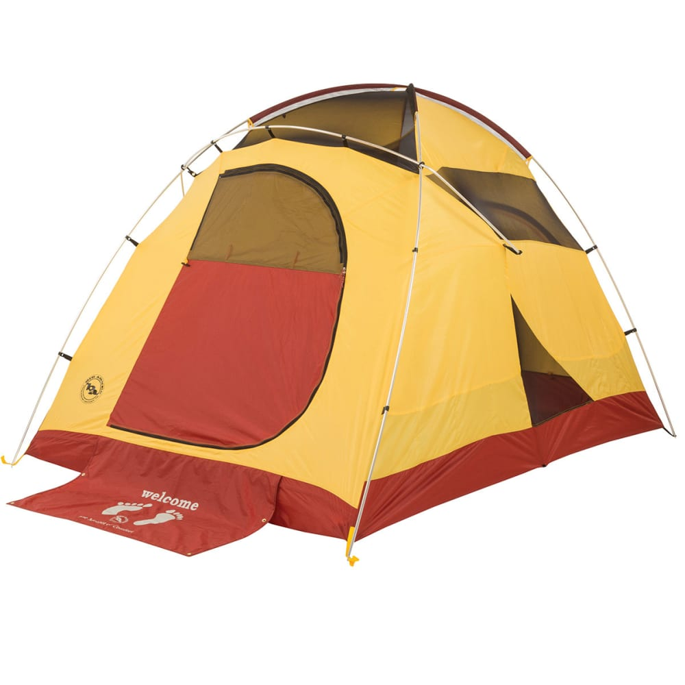 BIG AGNES Big House 6 Tent 2014 - YELLOW/RED  sc 1 st  Eastern Mountain Sports & BIG AGNES Big House 6 Tent