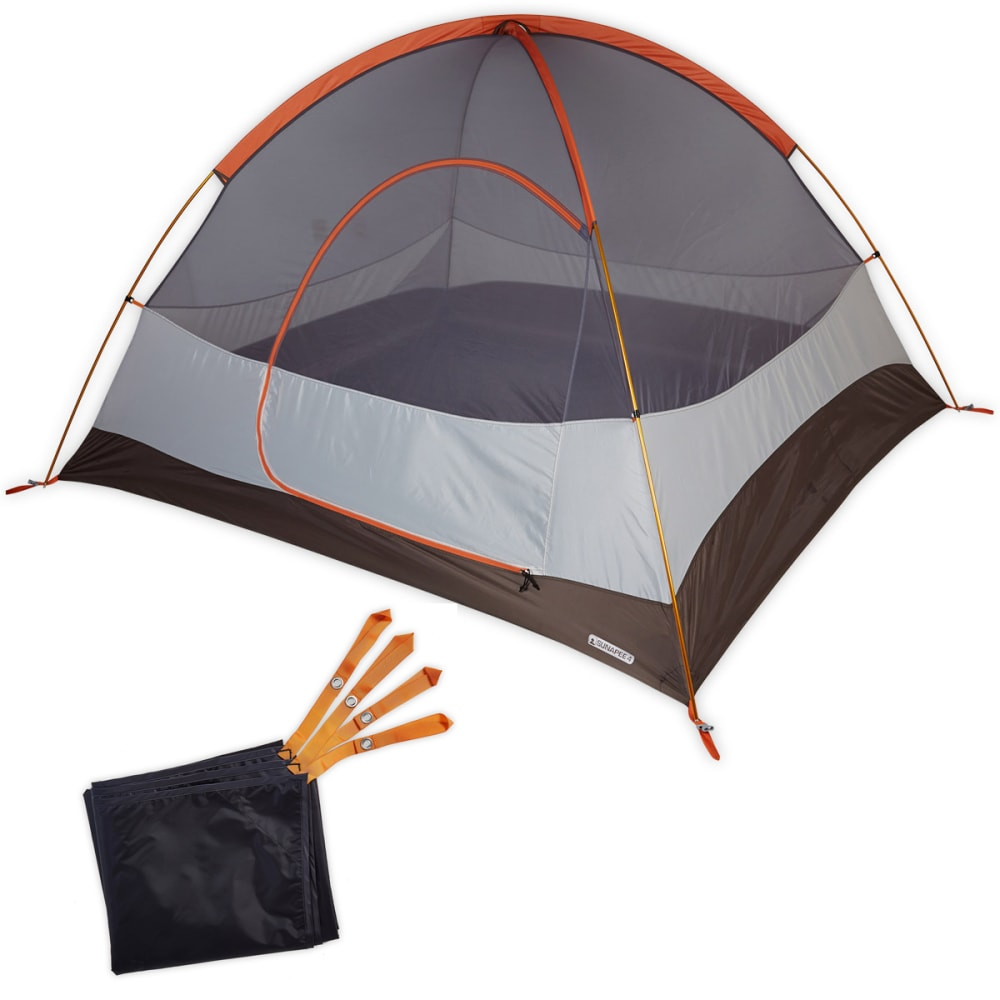 EMS Sunapee 4 Tent - DUSTY/ORANGE