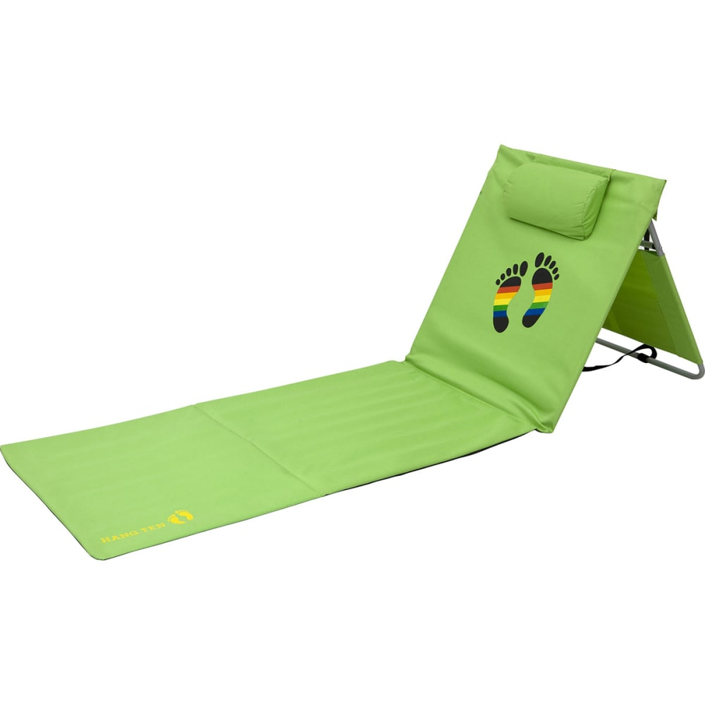 HANG TEN Stowaway Folding Beach Mat, Green - GREEN
