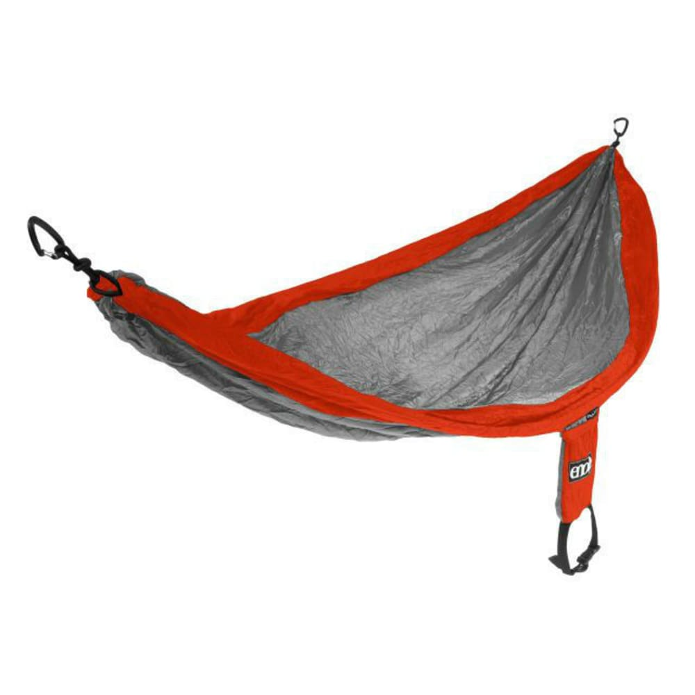ENO SingleNest Hammock - ORANGE/GREY SH006