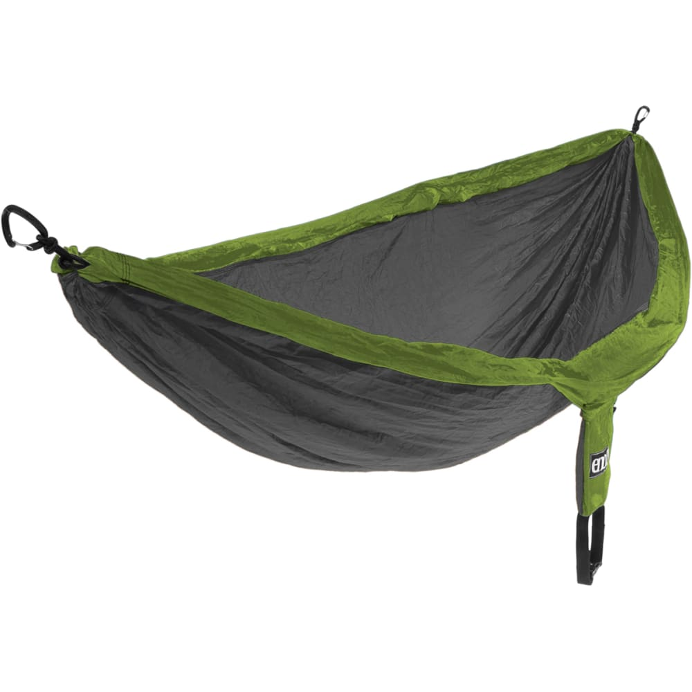 ENO DoubleNest Hammock  - LIME/CHARCOAL DH068