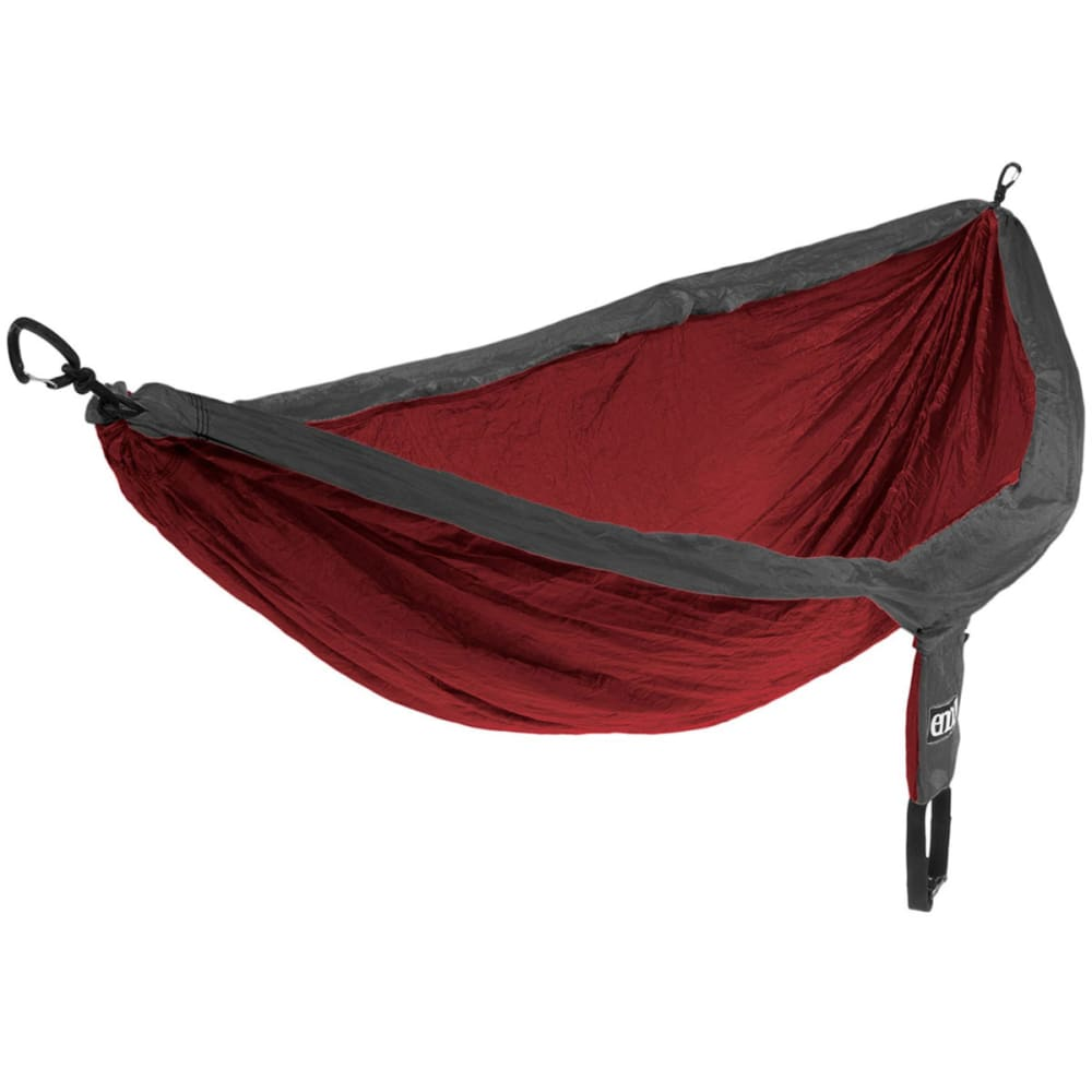 ENO DoubleNest Hammock  - RED/CHARCOAL DH004