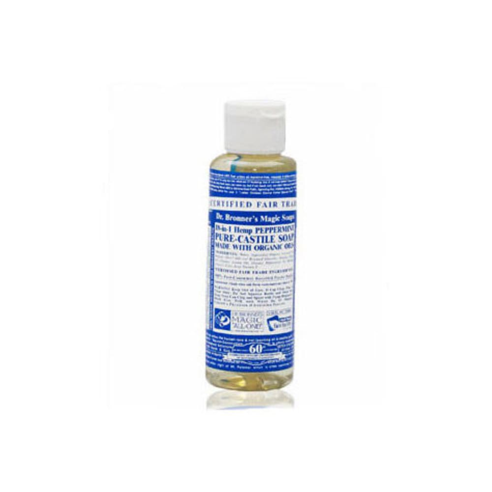 DR. BRONNER's Peppermint Liquid Soap, 16 oz. - PEPPERMINT