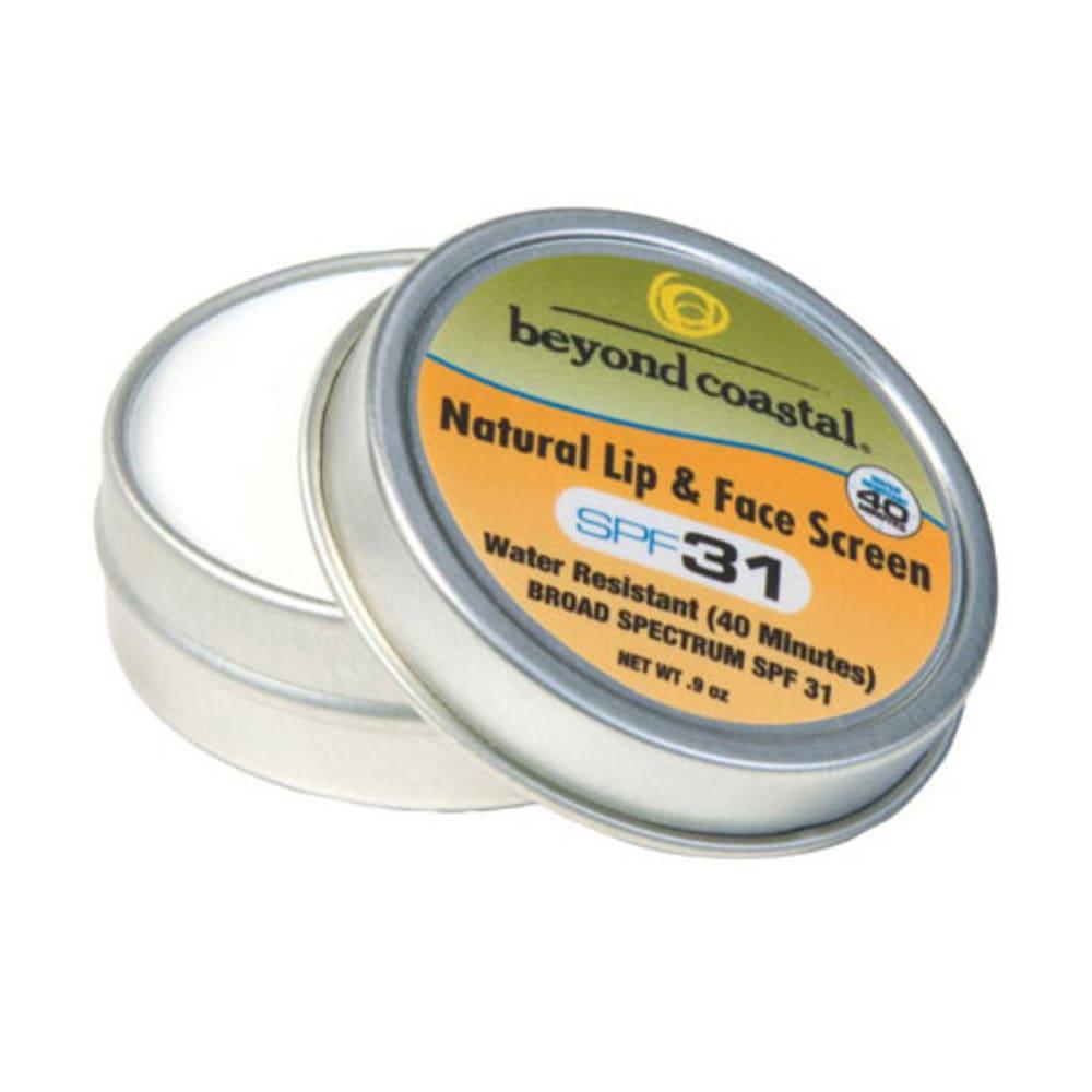 BEYOND COASTAL Natural Lip and Face Sun Protection - NONE