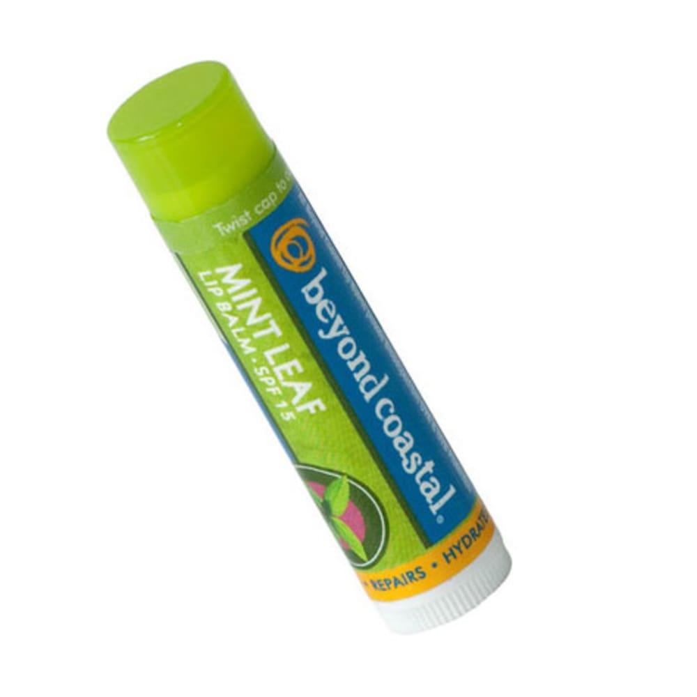 BEYOND COASTAL Active Lip Balm SPF 15, Mint Leaf - NONE