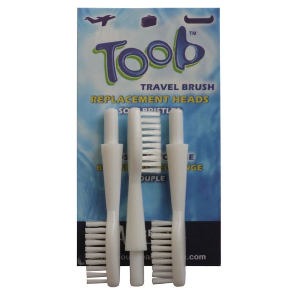 AURELLE TOOB Replacement Brush Heads, 3-Pack - NONE