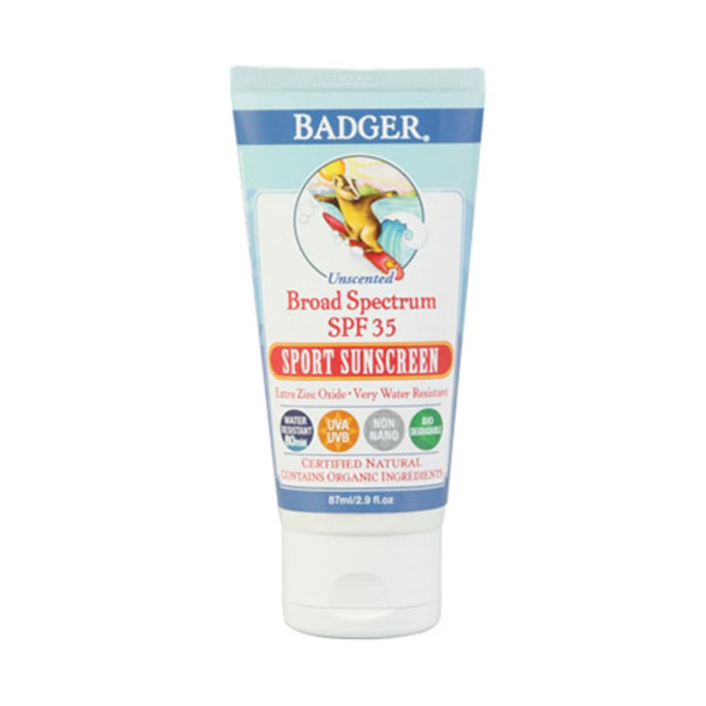 W.S. BADGER SPF 35 Sport Sunscreen Unscented - NONE