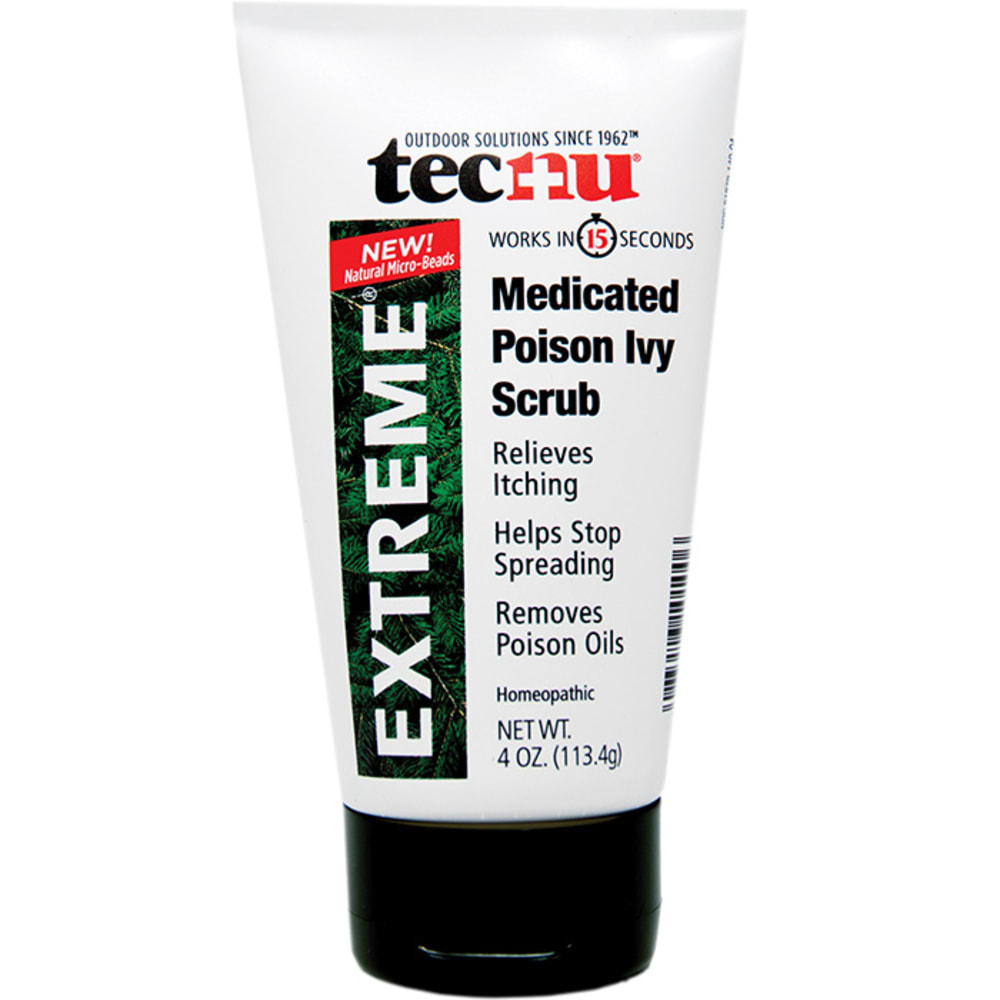 TECNU Extreme Medicated Poison Ivy Scrub - NONE