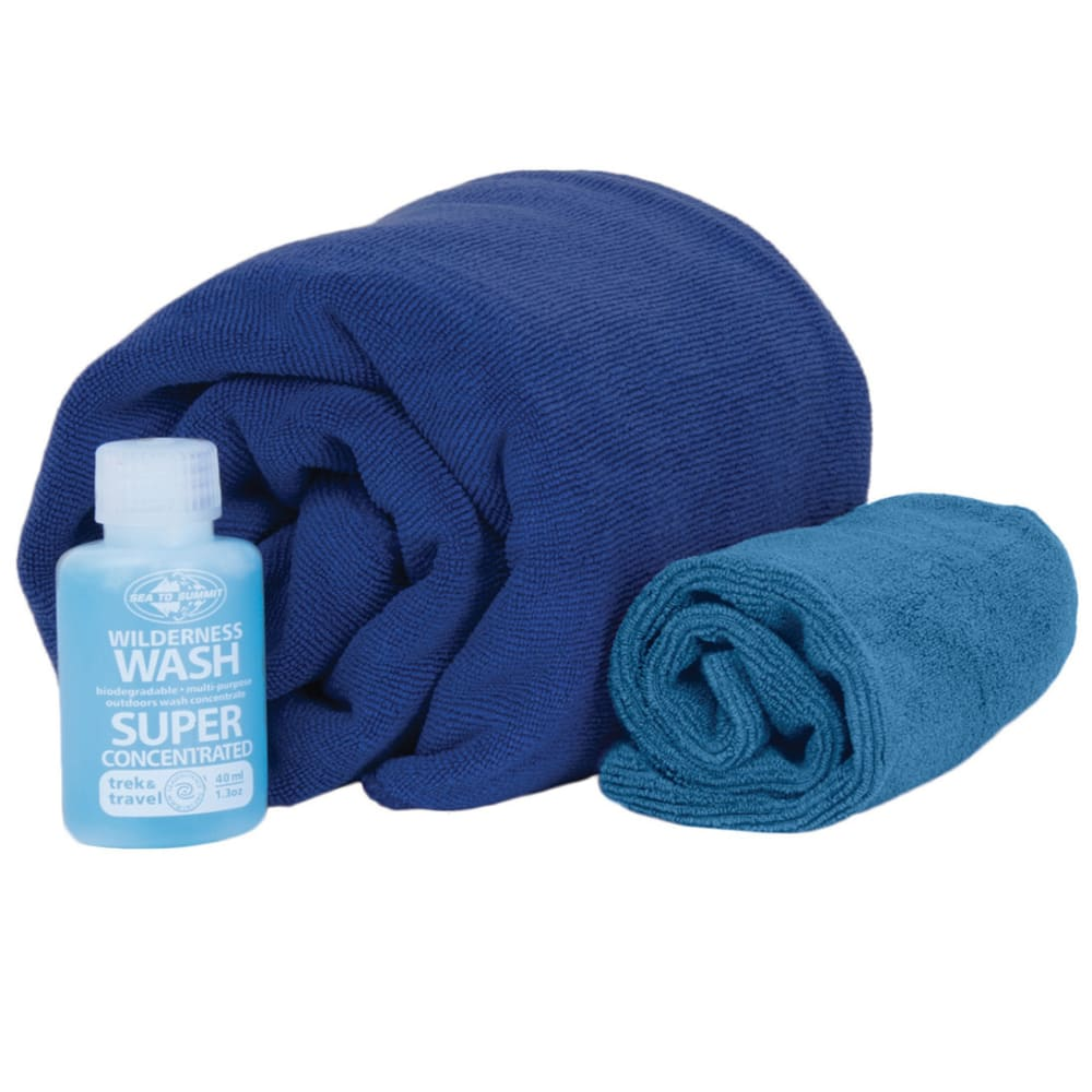 SEA TO SUMMIT Tek Towel Washcloths - COBALT