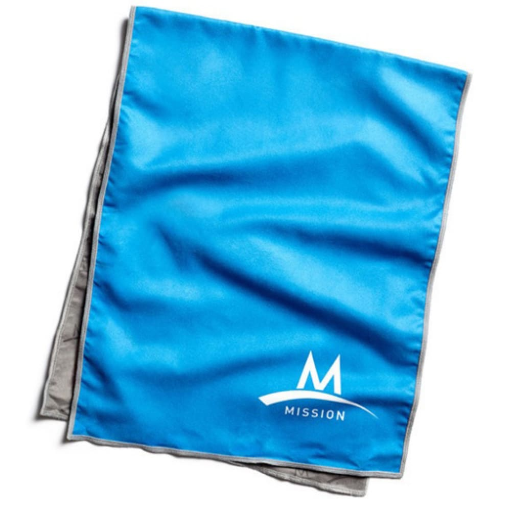 MISSION ATHLETECARE EnduraCool Towel, Blue - BLUE