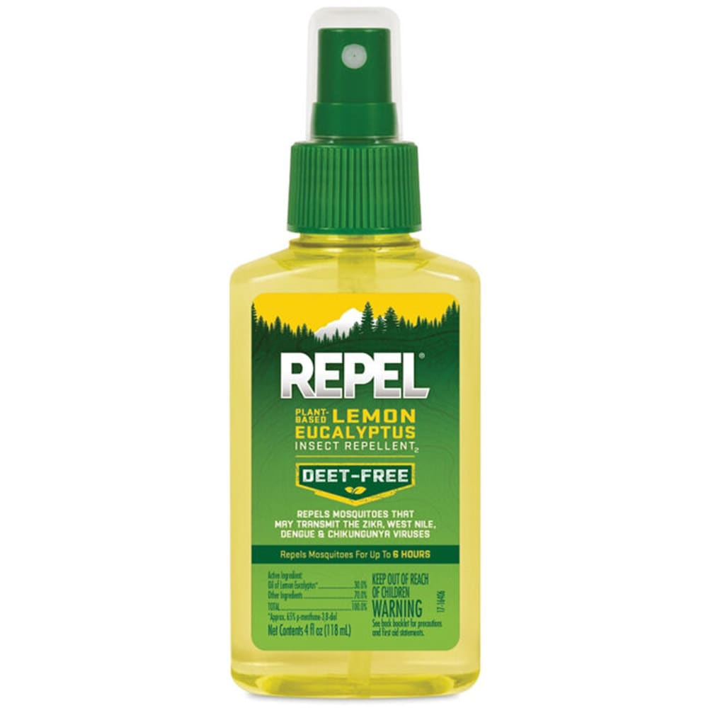 REPEL Lemon Eucalyptus Insect Repellent Spray, 4 oz. - NONE