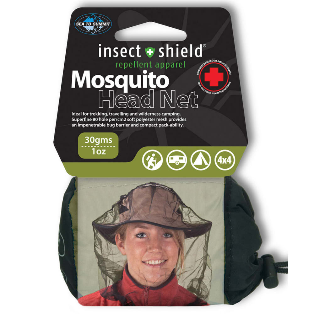SEA TO SUMMIT Insect Shield Mosquito Head Net - NONE