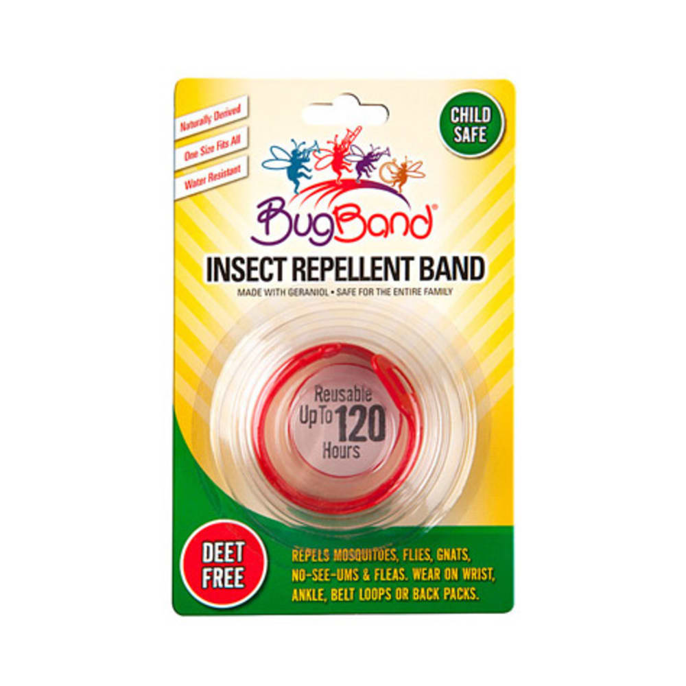 EES BugBand Insect Repelling Wristband - RED