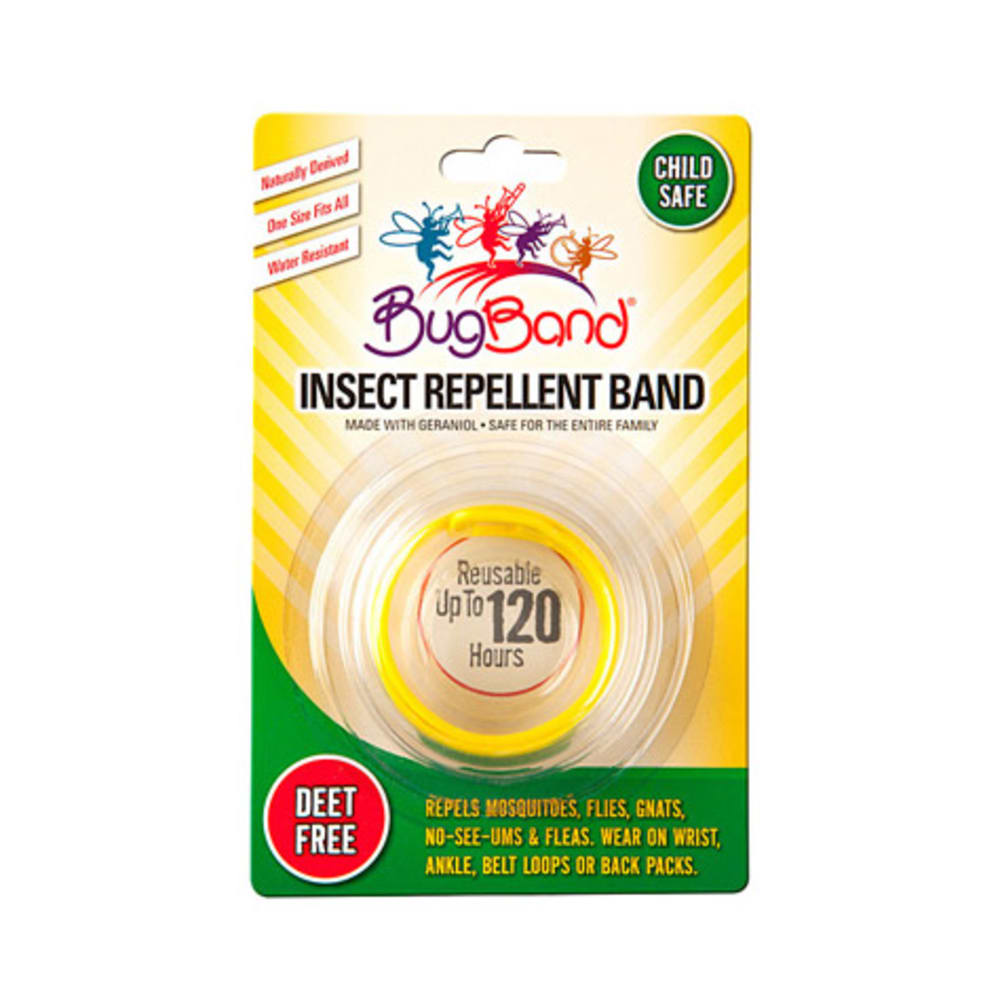 EES BugBand Insect Repelling Wristband - YELLOW