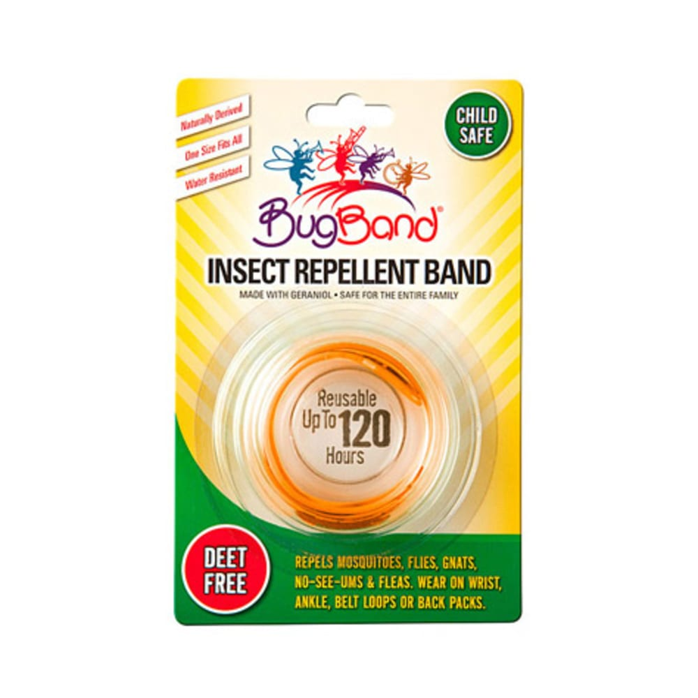 EES BugBand Insect Repelling Wristband - ORANGE