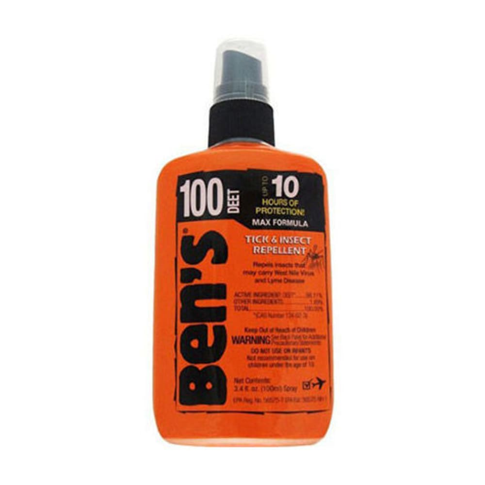AMK Ben's 100 Max Insect Repellent, 3.4 oz. Pump - NONE