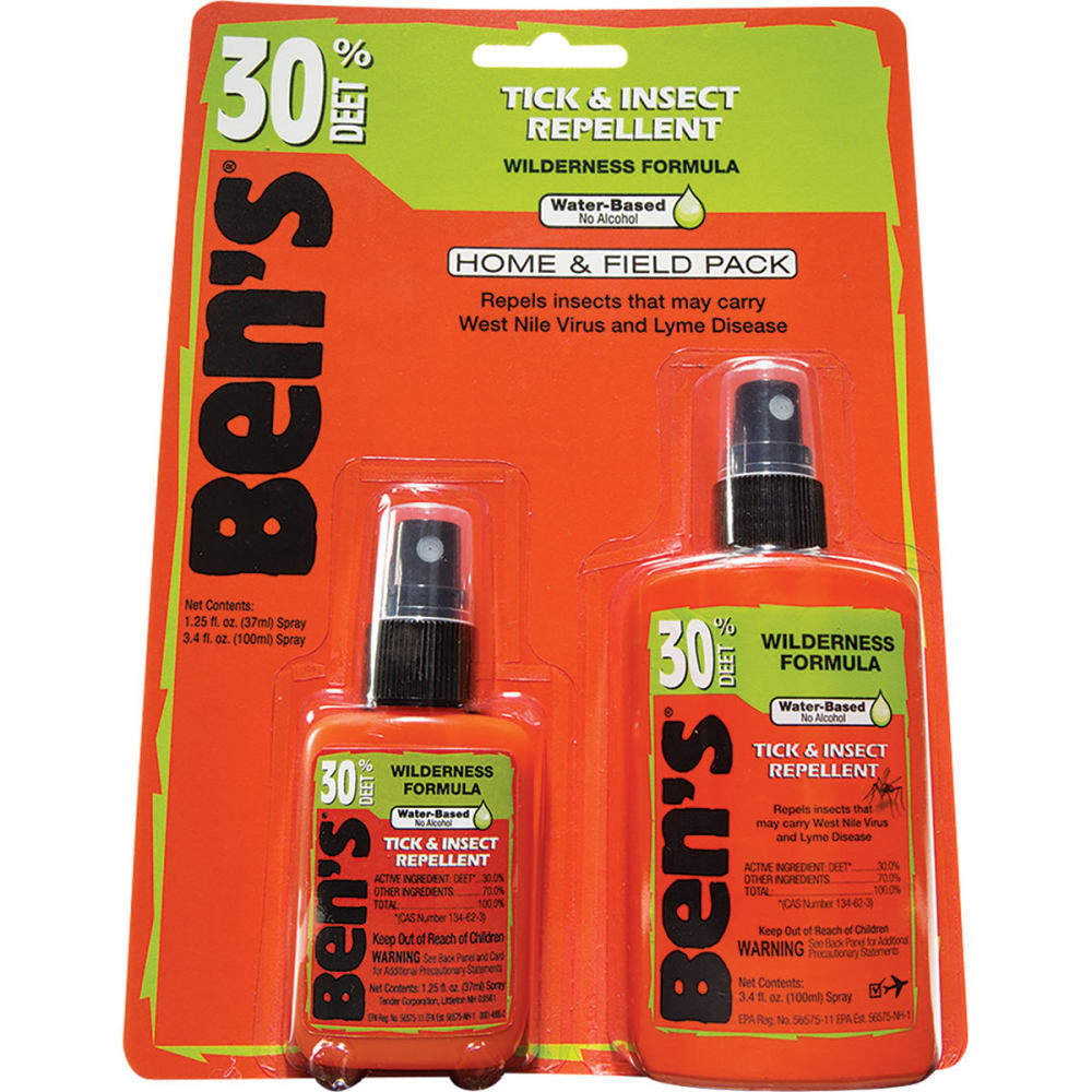 AMK Ben's Home and Field Insect Repellent Pack - NONE