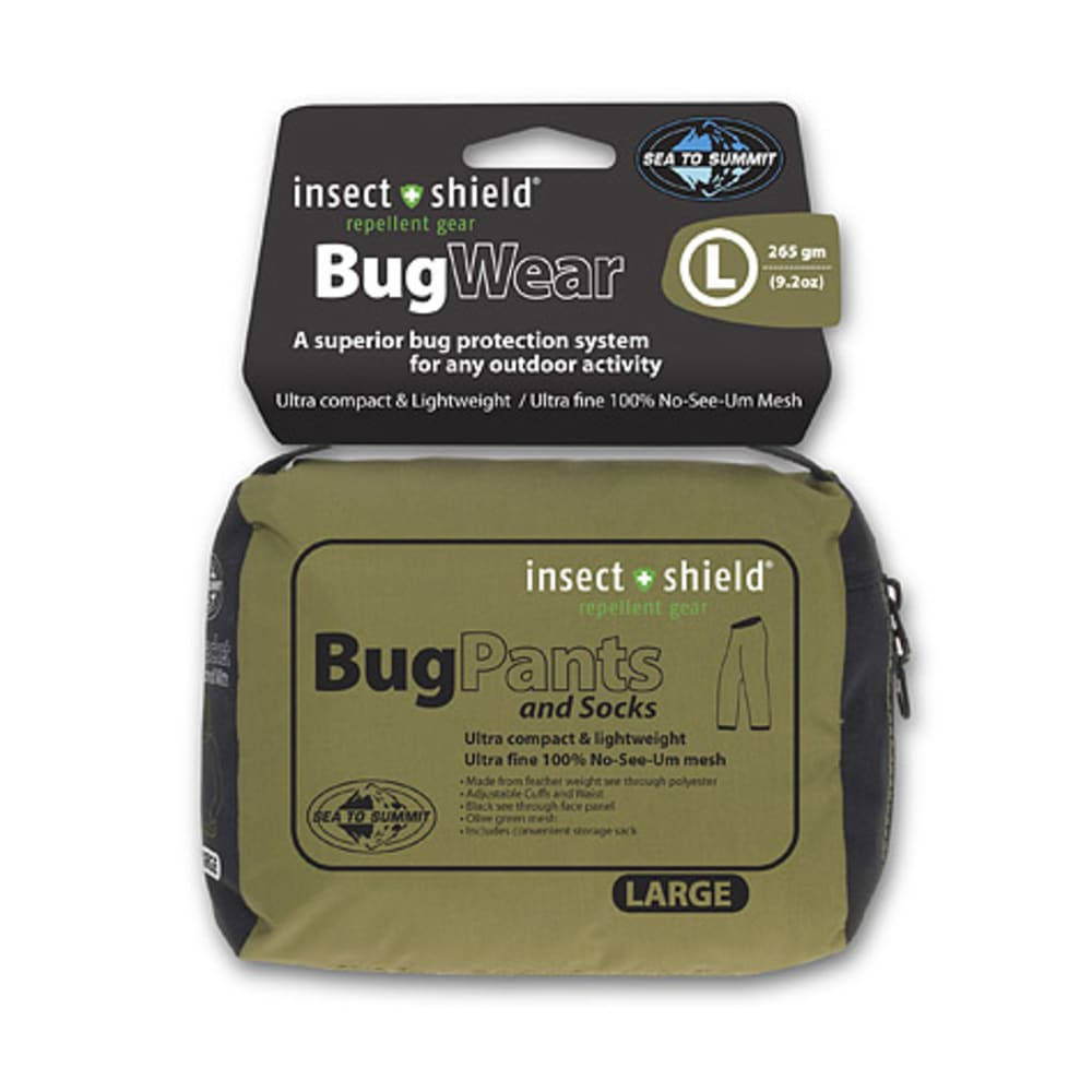 SEA TO SUMMIT Insect Shield Bug Pants - OLIVE