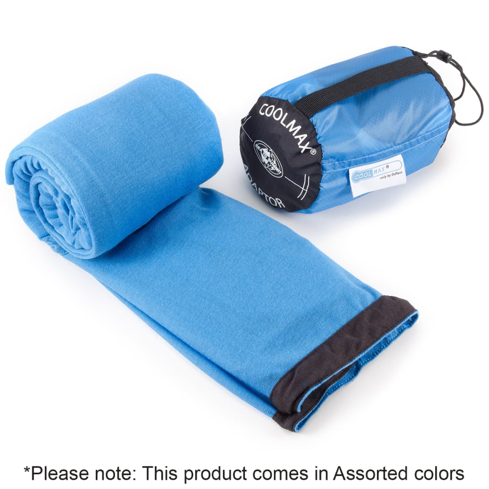 SEA TO SUMMIT Adaptor Coolmax Sleeping Bag Liner - ASSORTED