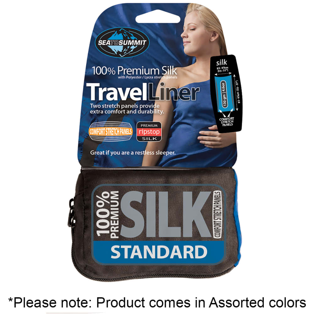 SEA TO SUMMIT Silk Liner, Standard Rectangular - ASSORTED