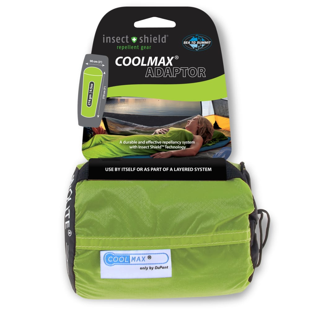 SEA TO SUMMIT Insect Shield Coolmax Adaptor Liner - NONE