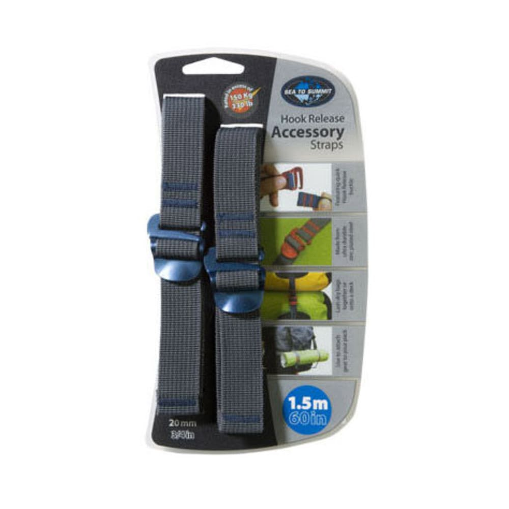 SEA TO SUMMIT 20 mm Accessory Straps with Hook 1.5 m - BLUE