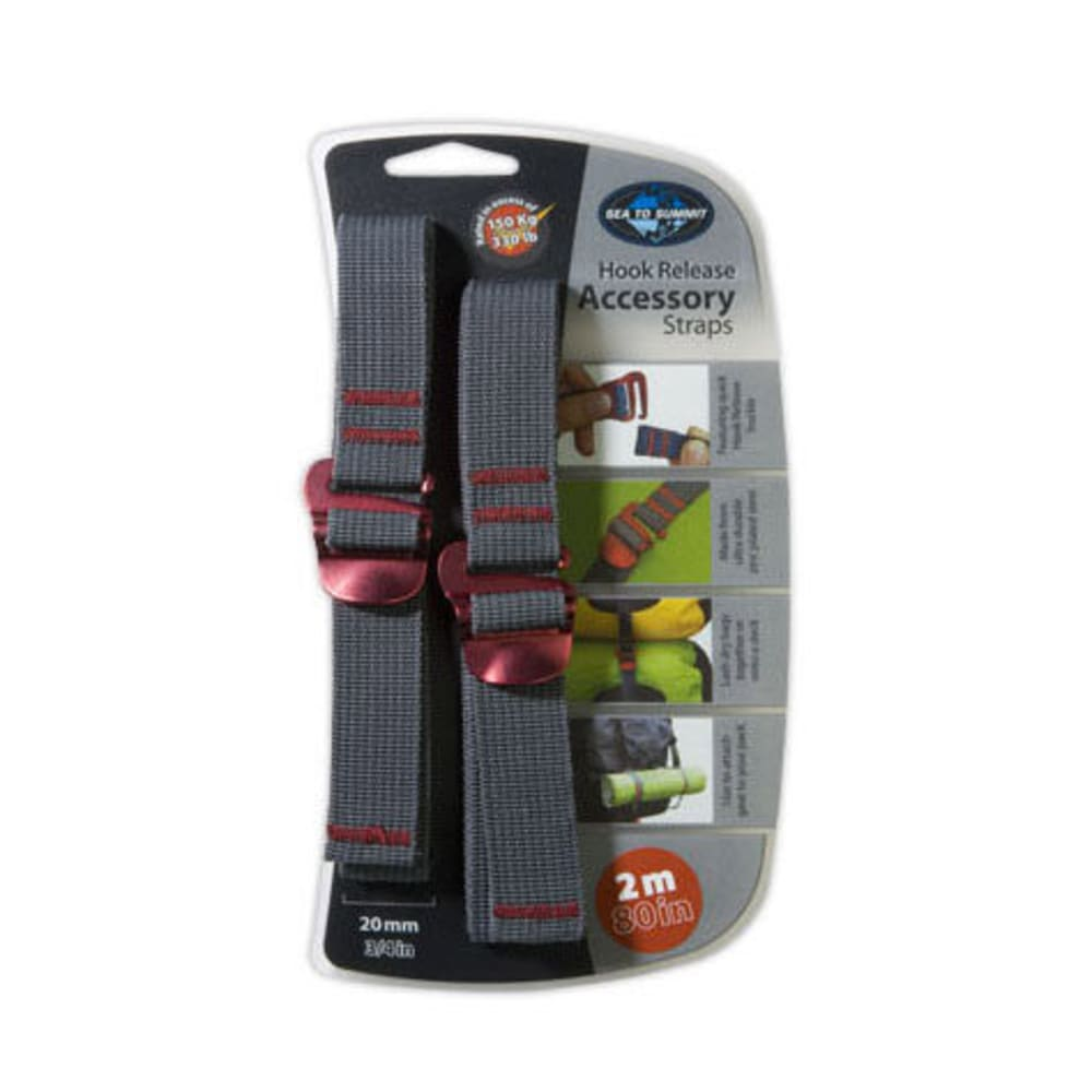 SEA TO SUMMIT 20 mm Accessory Strap with Hook - RED