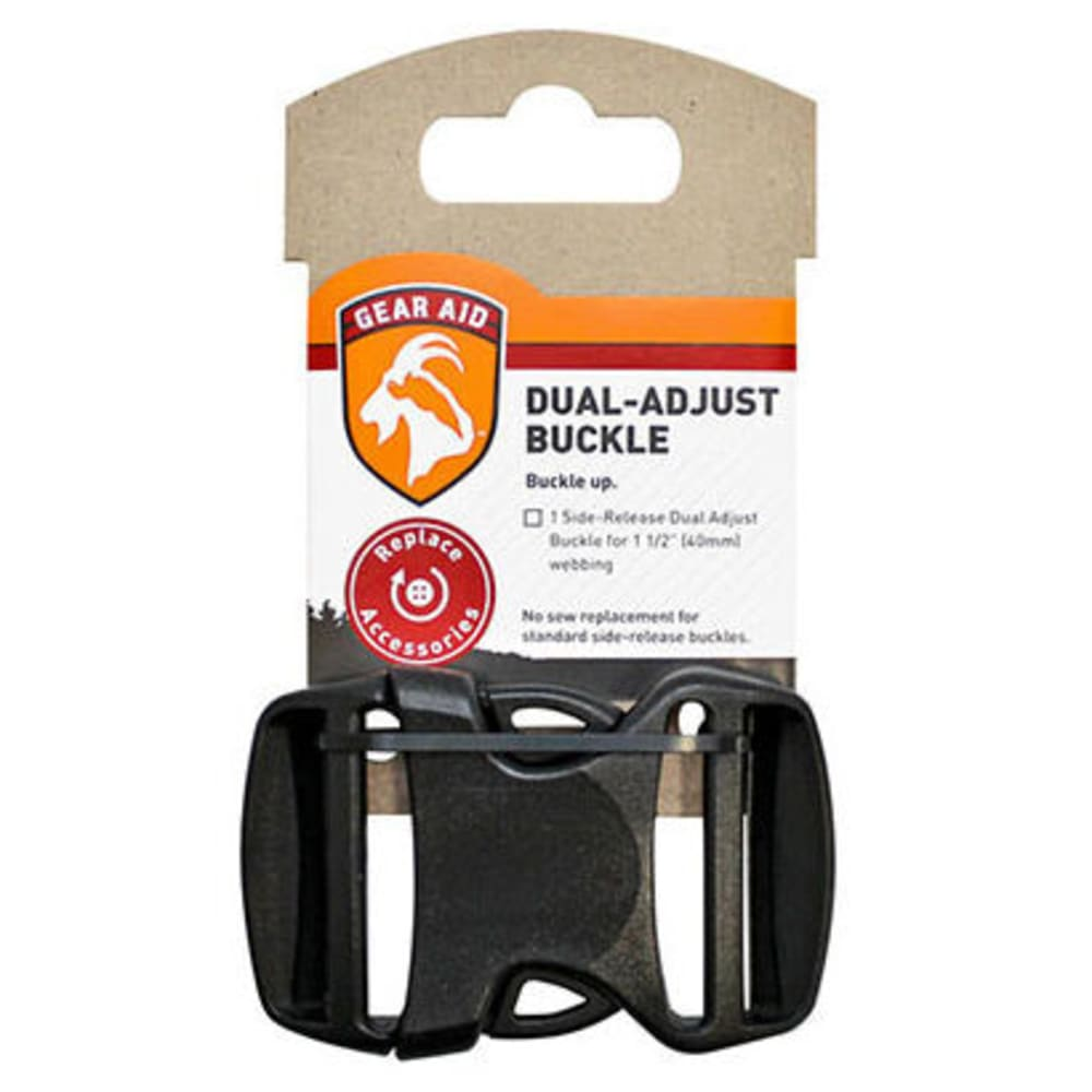 GEAR AID Dual-Adjust 1.5 in. Buckle - NONE