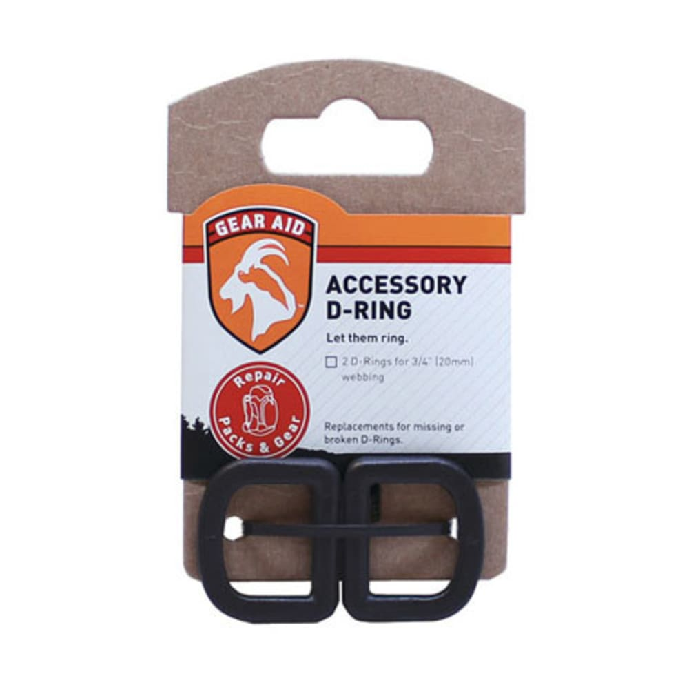 GEAR AID Accessory D-Ring Kit, 3/4 in. - NONE