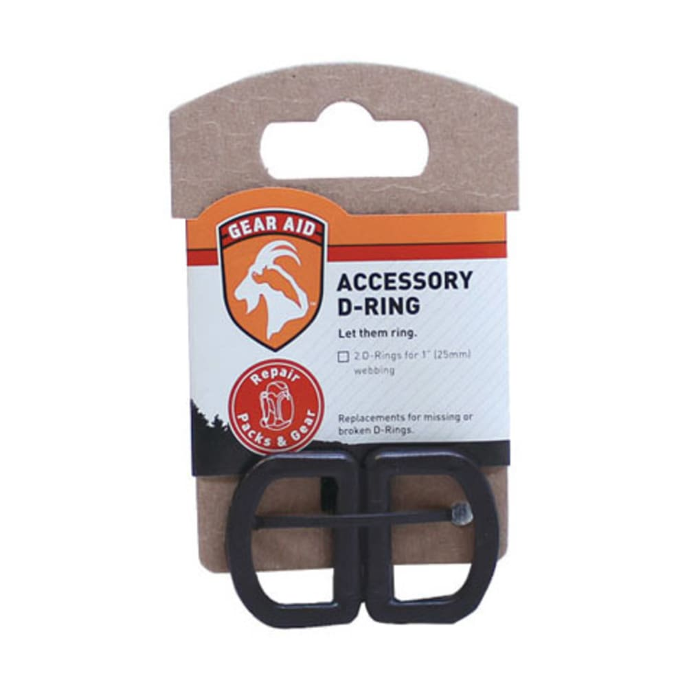 GEAR AID Accessory D-Ring Kit, 1 in. - NONE