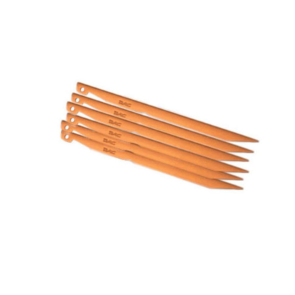 DAC Tent Stakes, 6 Pack - CURRY