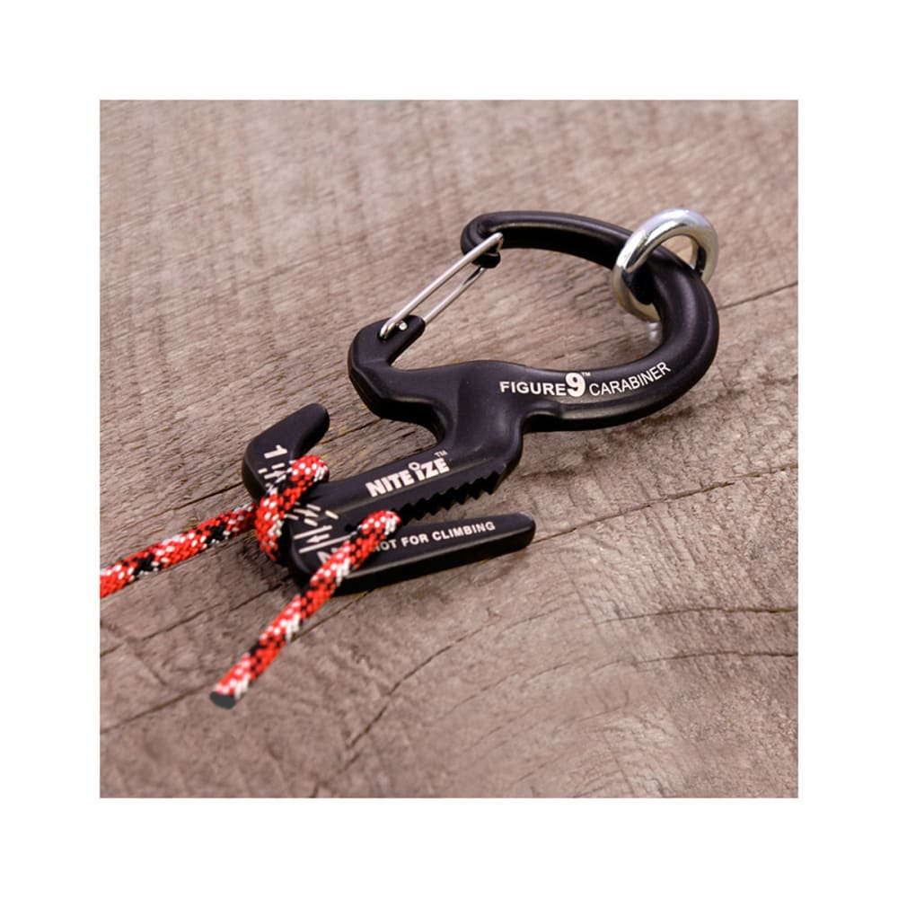 NITE IZE Figure 9 Carabiner Rope Tightener, Large - NONE