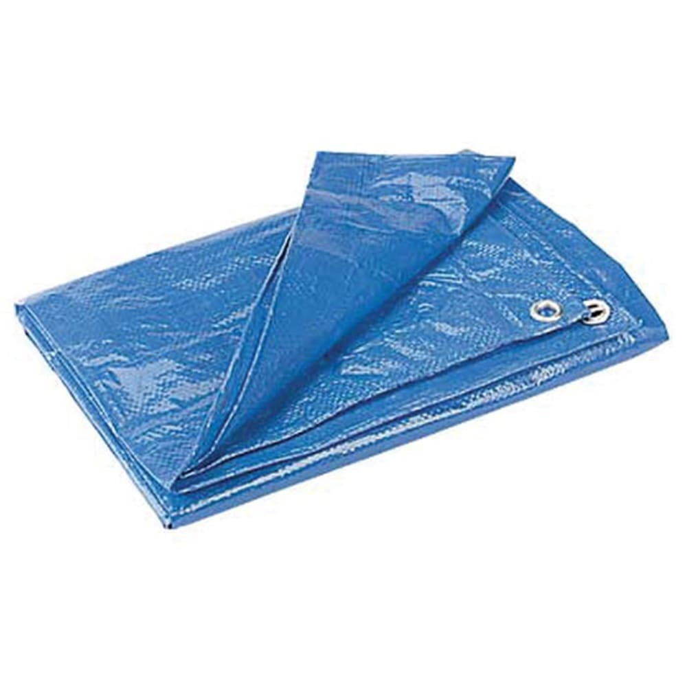 EQUINOX Poly Tarp, 10 x 12 ft. - BLUE