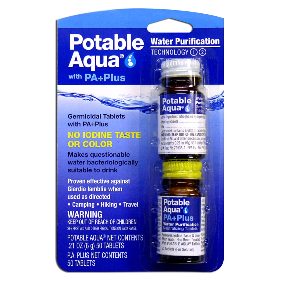POTABLE AQUA PA+Plus Water Purification - NONE