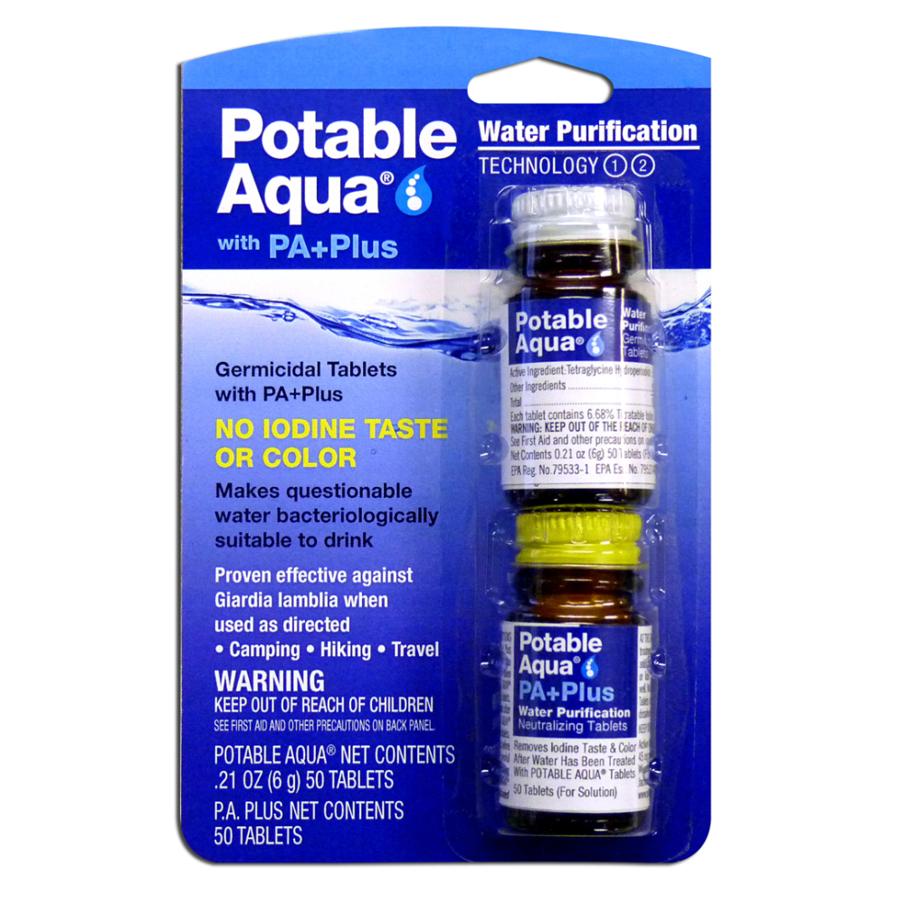 POTABLE AQUA PA+Plus Water Purification NA